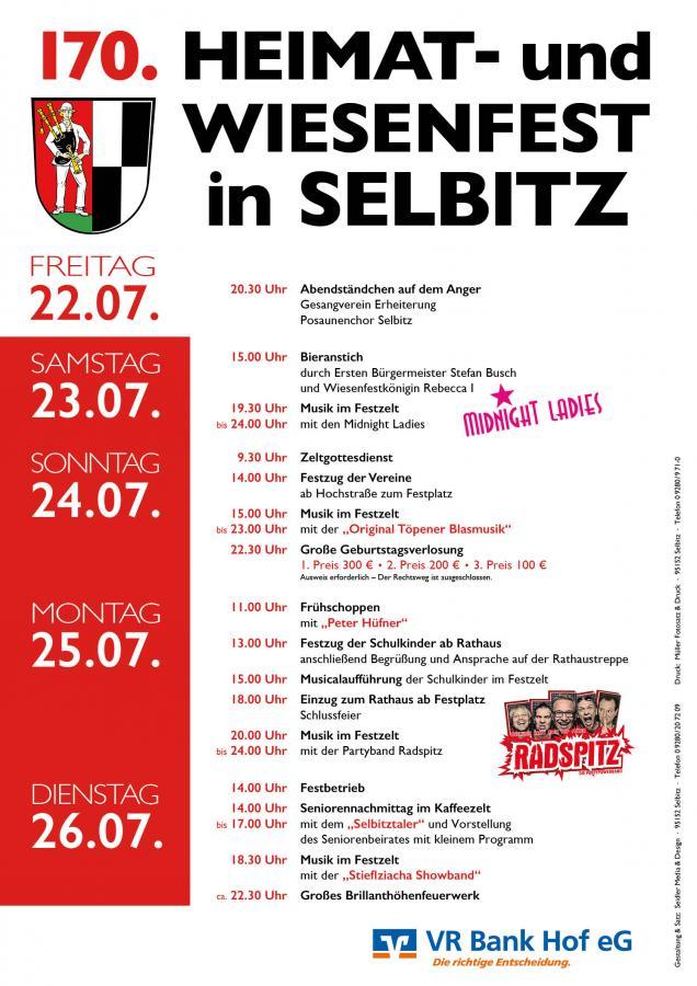 Plakat Wiesenfest 2016