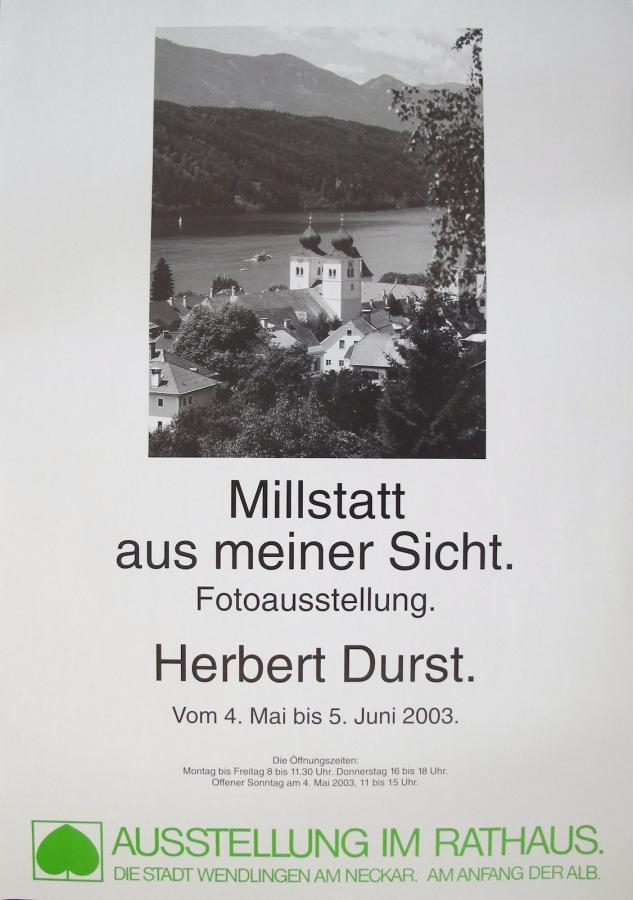 Plakat Fotoausstellung Mai-Juni 2003