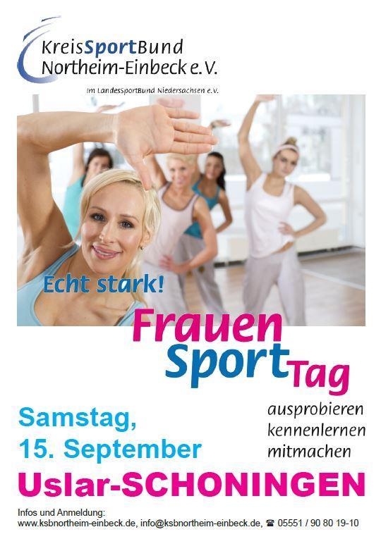 Frauensporttag Plakat