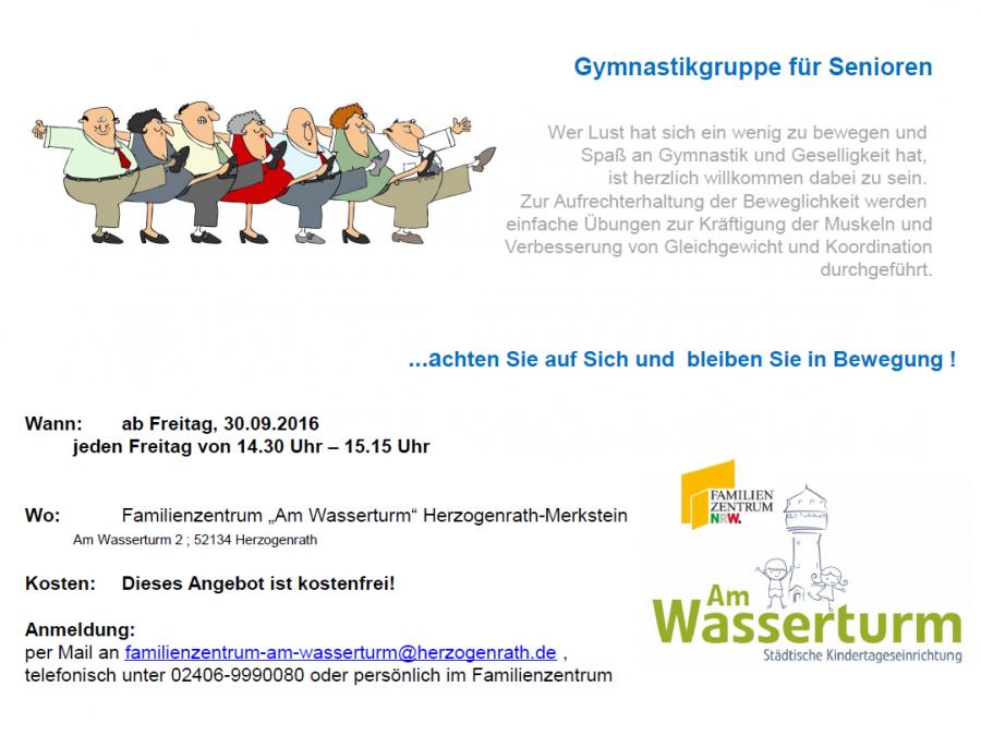 Plakat Gymnastikgruppe für Senioren Webseite 2