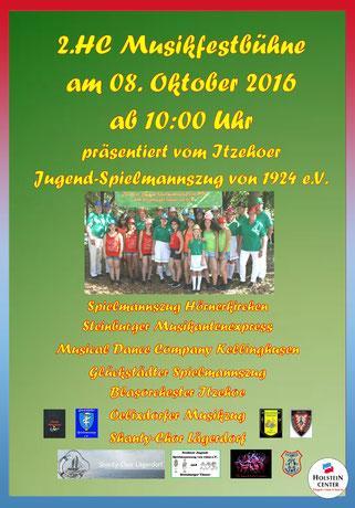 Plakat HC Musikfestbühne 2016