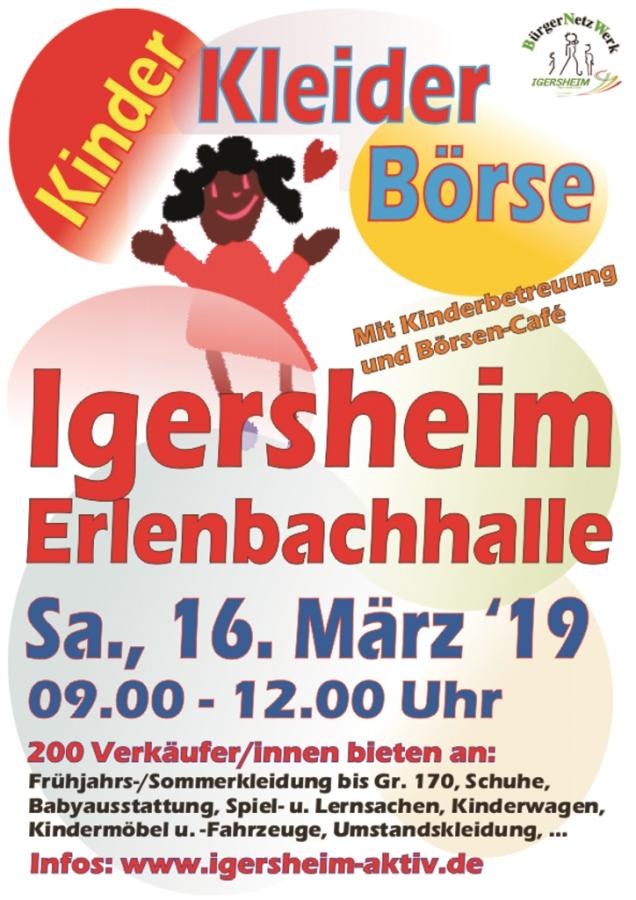 Kinderkleiderbörse Igersheim 16.03.2019