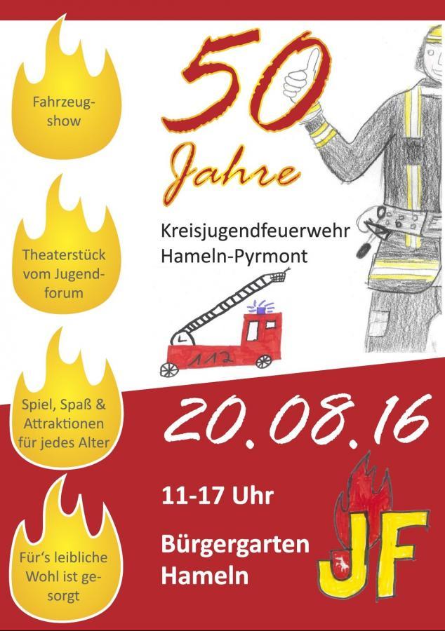 50 Jahre Kreisjugendfeuerwehr Hameln-Pyrmont