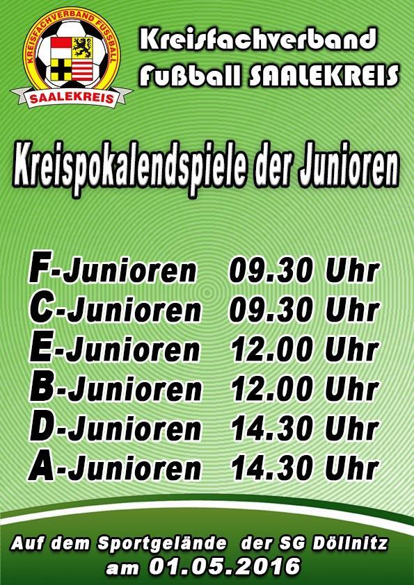 Kreispokalendspiele der Junioren