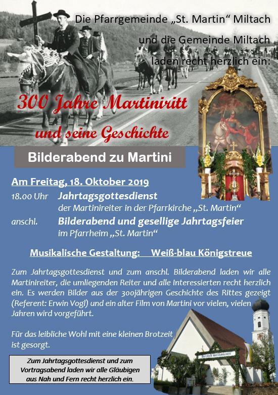 Martini Vortrag Miltach