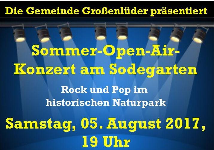 Sommer-Open-Air-Konzert 2017