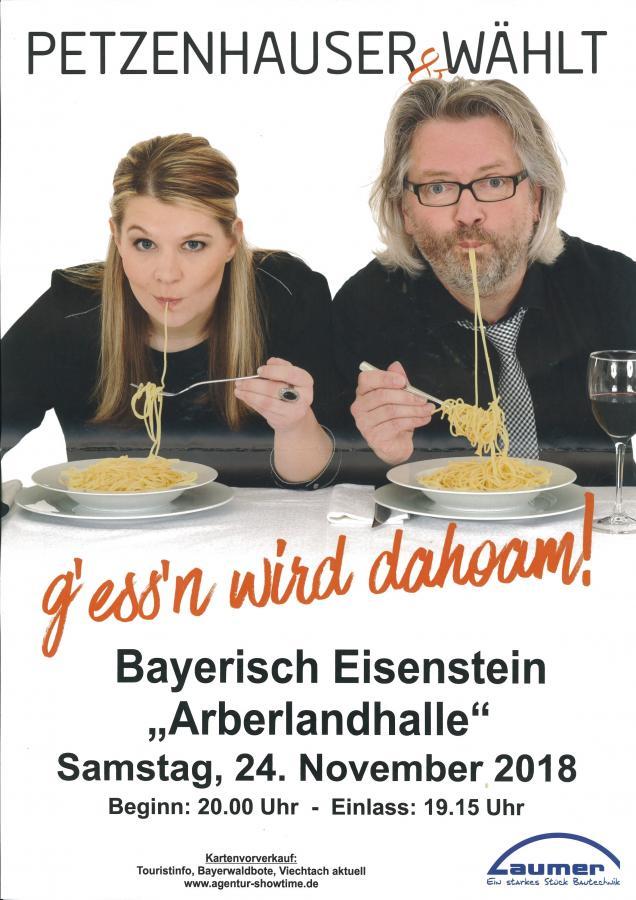 Plakat Petzenhauser & Wählt