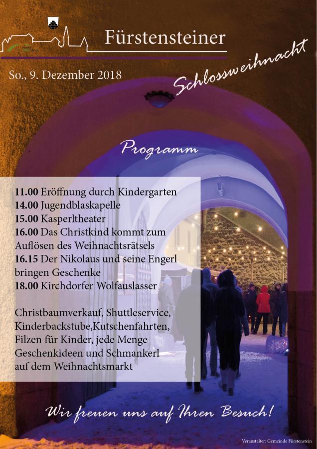 Schlossweihnacht 2018