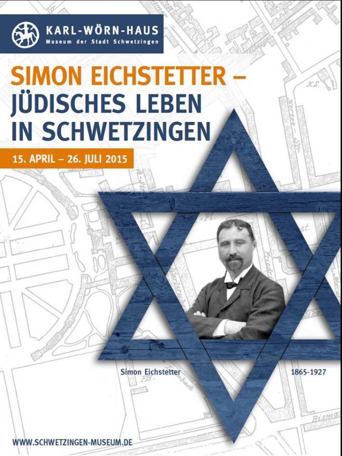 Plakat Sonderausstellung Simon Eichstetter