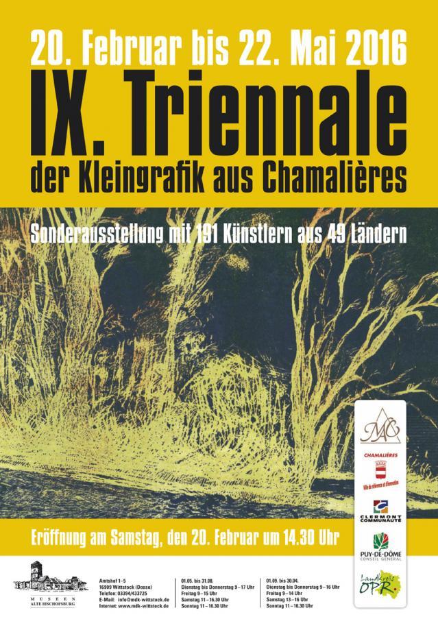 IX. Triennale der Kleingrafik