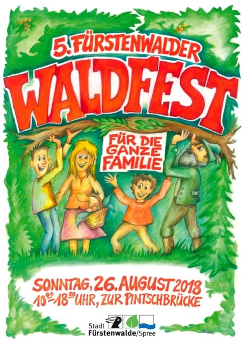 Plakat Waldfest