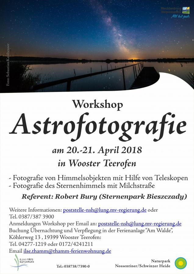 Workshop Astrofotografie