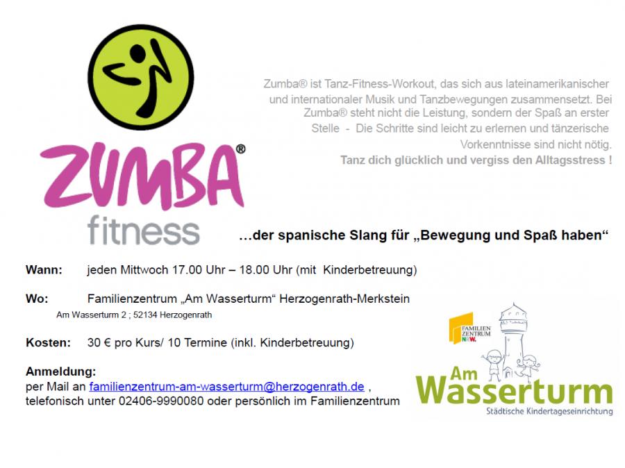 Plakat Zumba  Webseite
