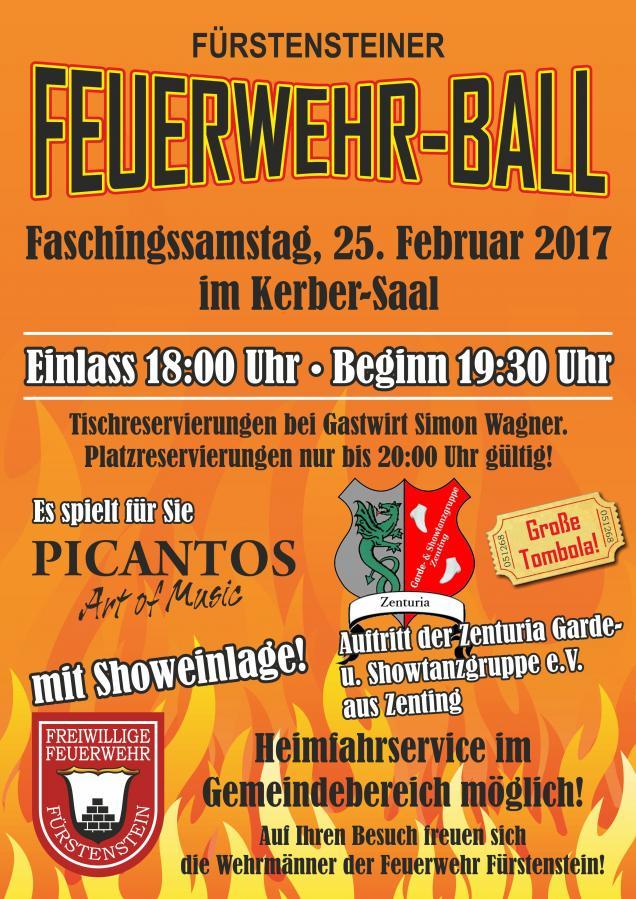 Feuerwehr- Ball 2017