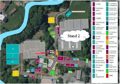 Veranstaltungplan Stand