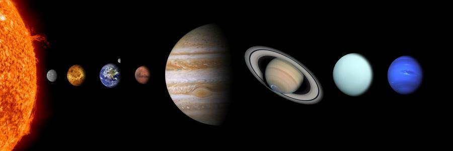 Sonnensystem, Quelle: NASA