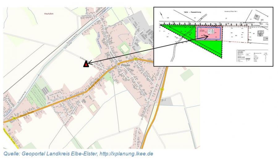 Übersicht über das Plangebiet 3