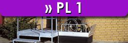 Plattformlifte PL 1 Aufzug LuS