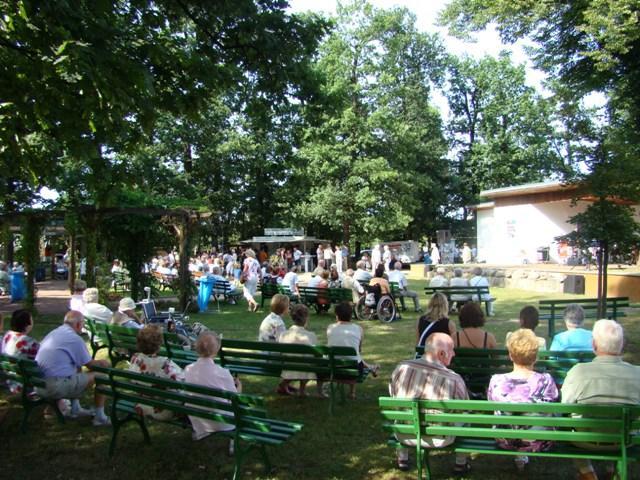 Gut besuchtes Platzkonzert im Sängerpark