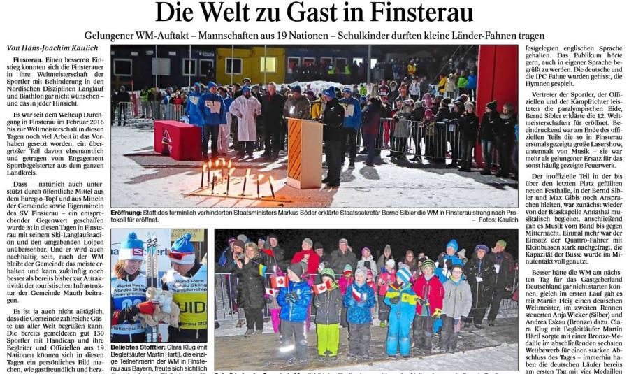 PNP Die Welt zu Gast in Finsterau