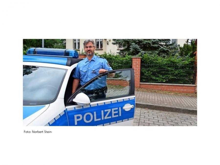 Revierpolizist Sören Prume