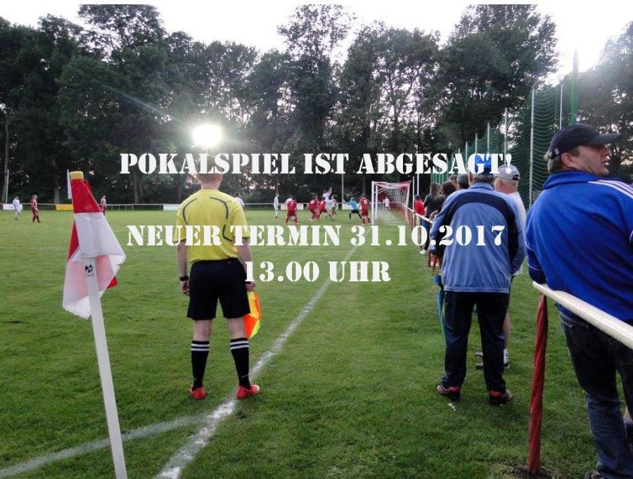 Neuansetzung Pokalspiel HSV - SVGWA