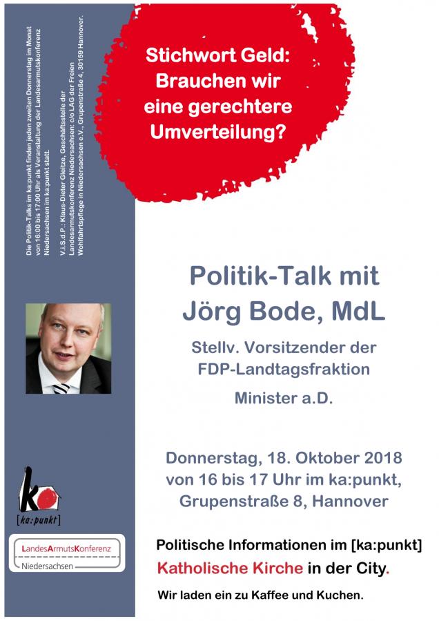 Polit-Talk Oktober 2018