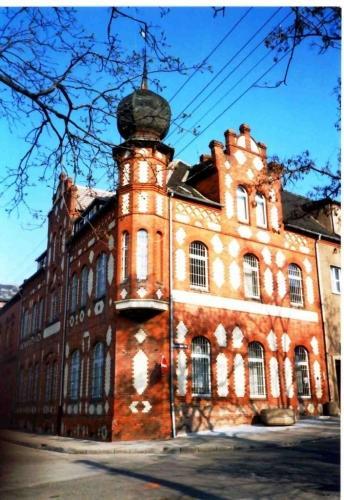 das Polizeigebäude