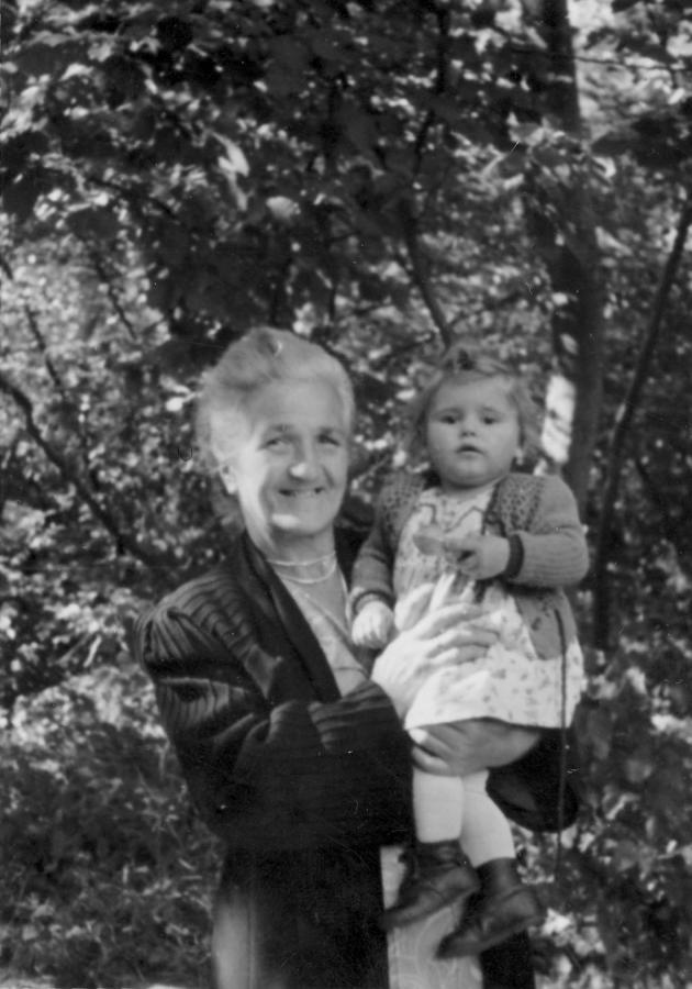 Frieda Molick mit Elle Thum in Neukalen