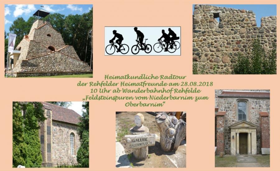 Werbung Radtour am 28.08.2018