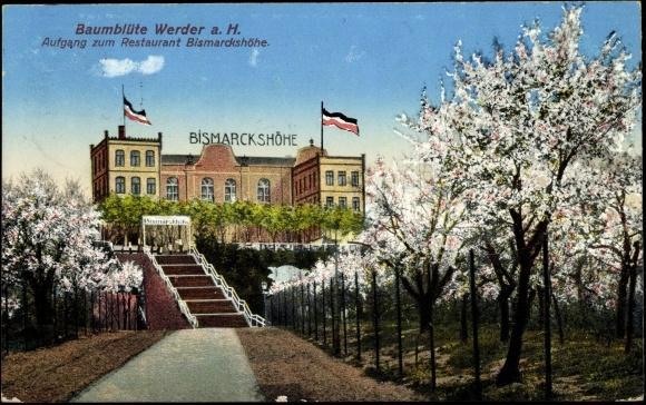 Die Ansicht um 1906
