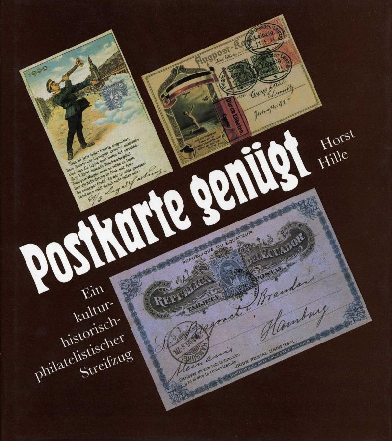 Postkarte genügt