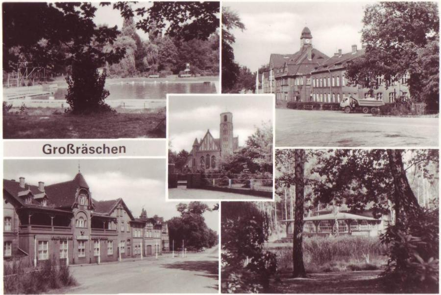 Postkarte von Großräschen Süd