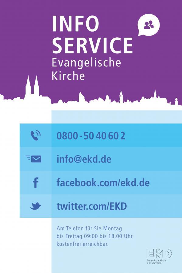 Bundesweiter Informationsservice der EKD