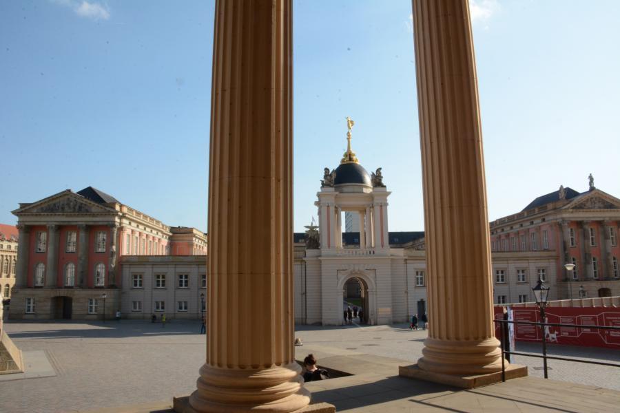 Fortuna-Portal am Landtag