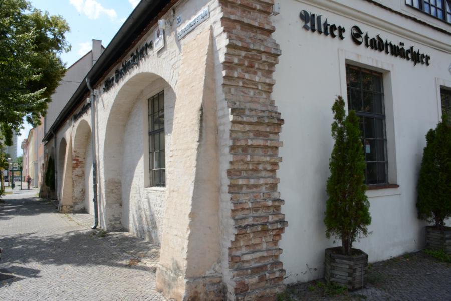 Stadtmauer am Alten Stadtwächter