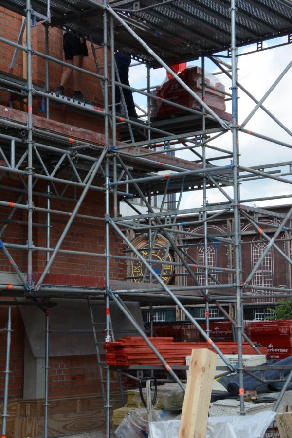 Baustelle Turm der Garnisonkirche
