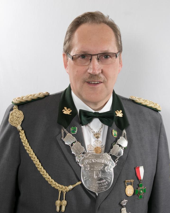 Präsident Hartmut Wiegers