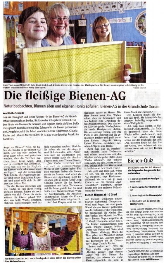 Nordseezeitung 27.02.2018
