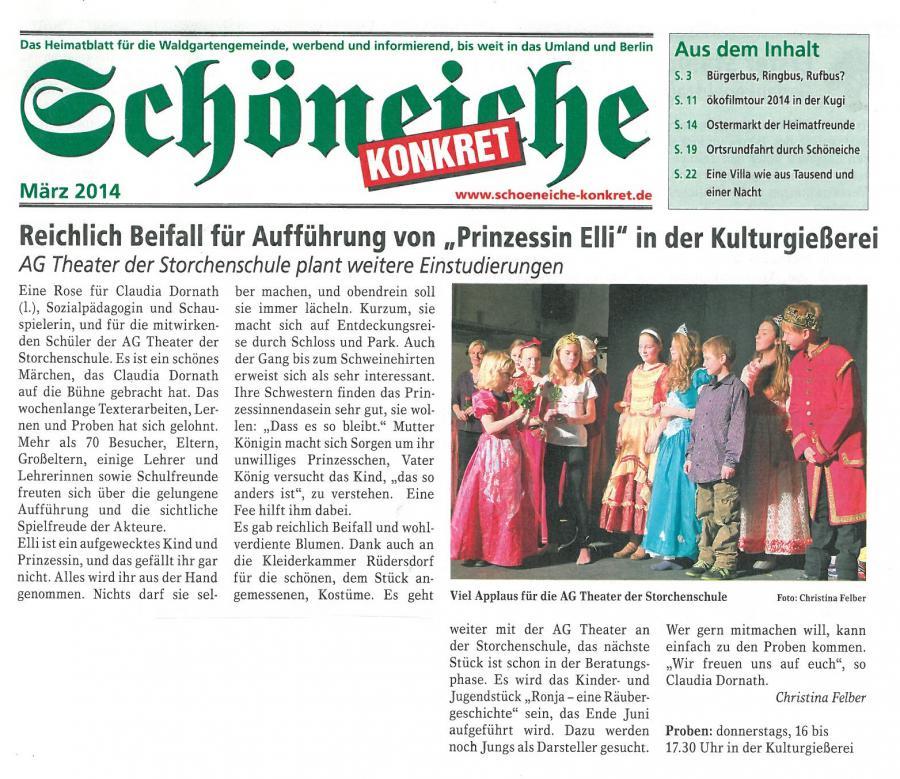 2014-03 Schöneiche konkret: