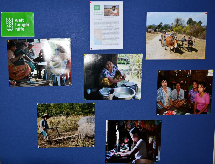 Projekt Myanmar der Welthungerhilfe