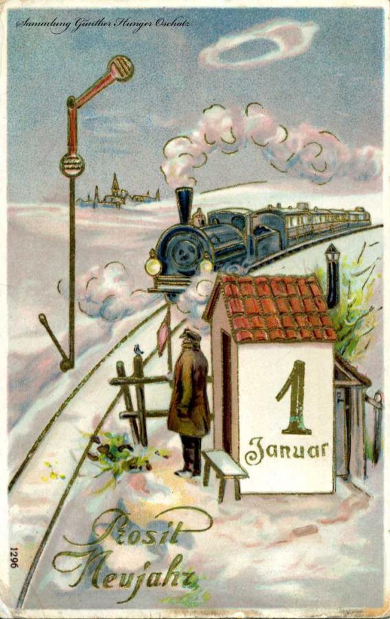 Prosit Neujahr 1. Januar