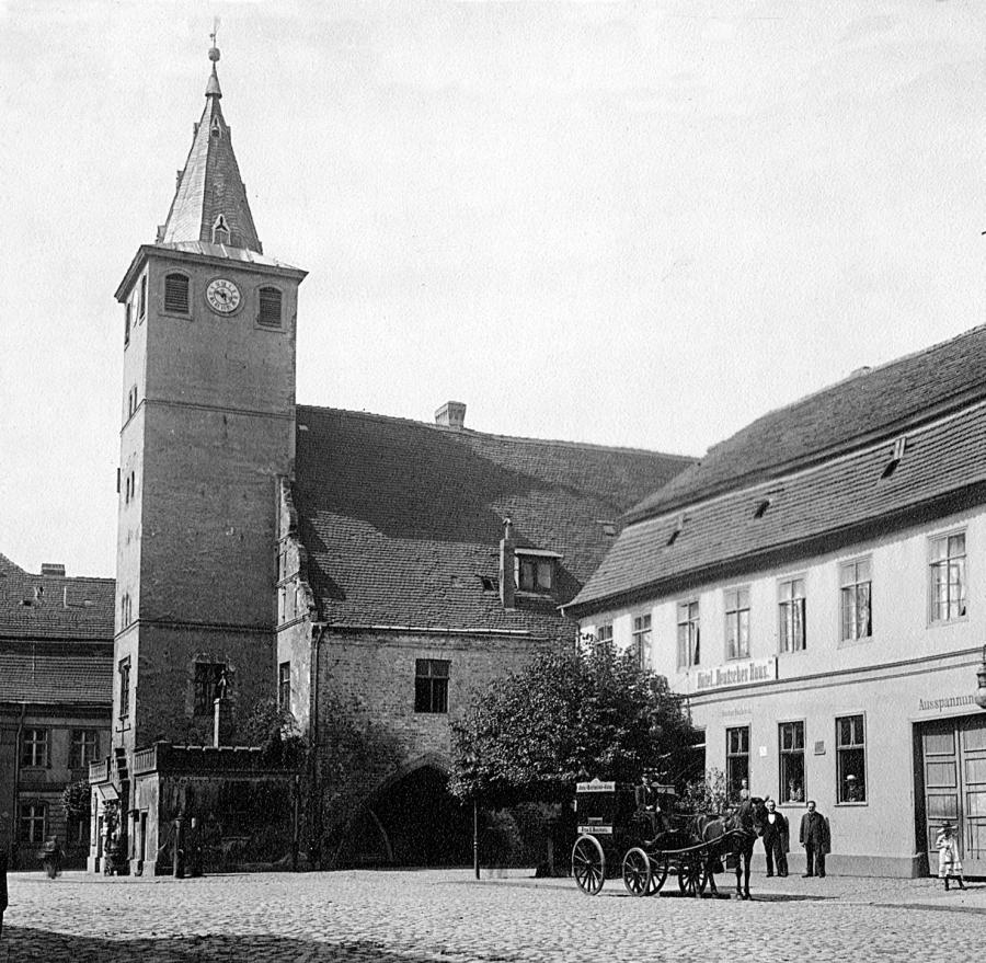 Rathaus 1896