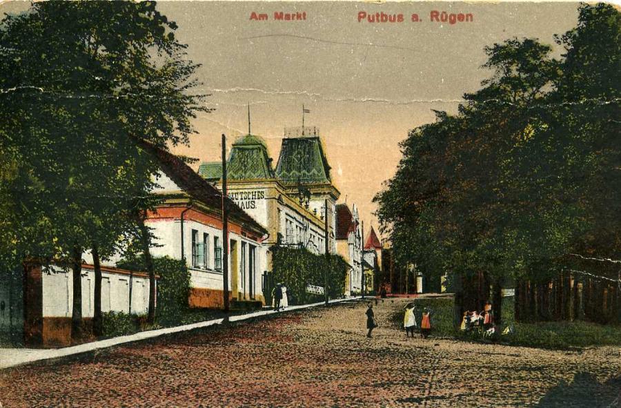 Putbus a. Rügen  Am Markt