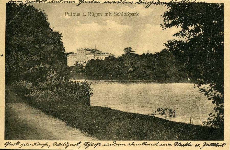 Putbus a . Rügen mit Schloßpark