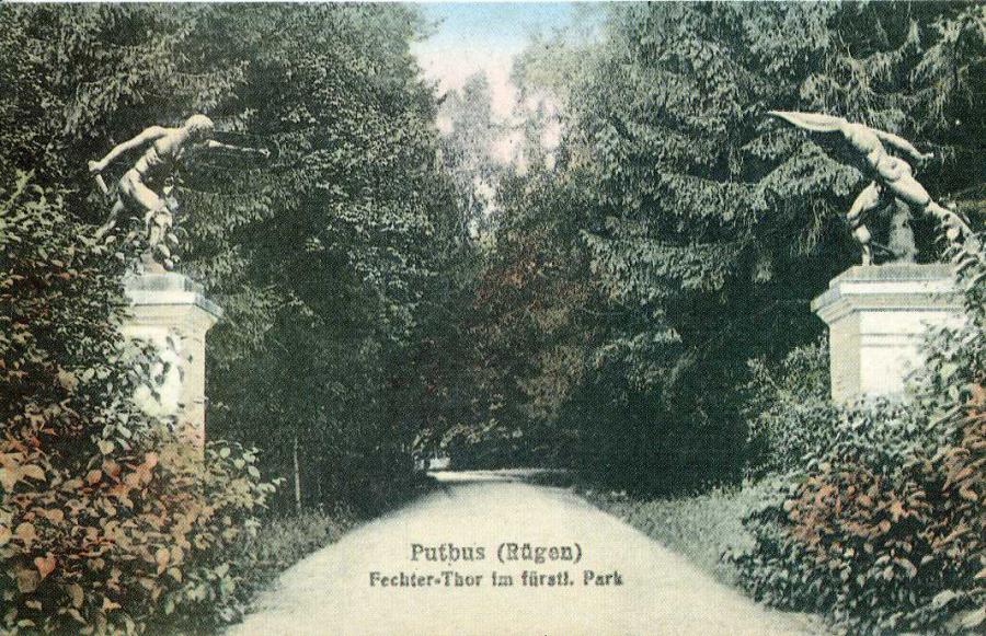 Putbus Fechter-Thor im fürstl. Park