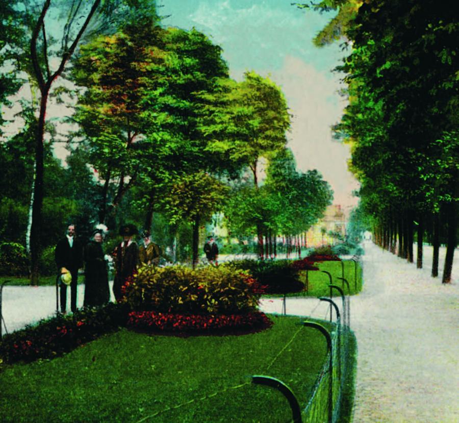 Stadtpark Postkarte