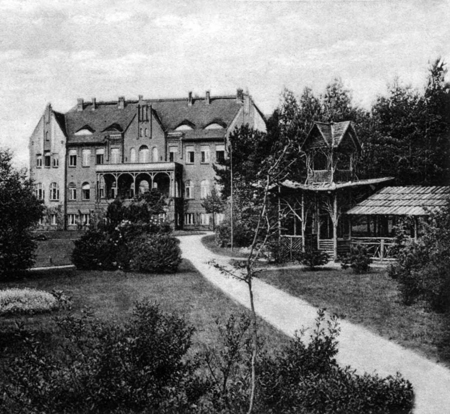 Hauptgebäude Waldfrieden