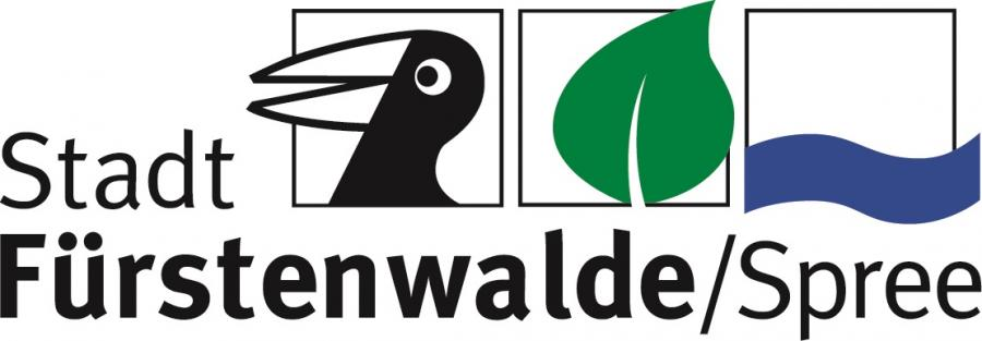 Logo Stadt Fürstenwalde/Spree quer bunt