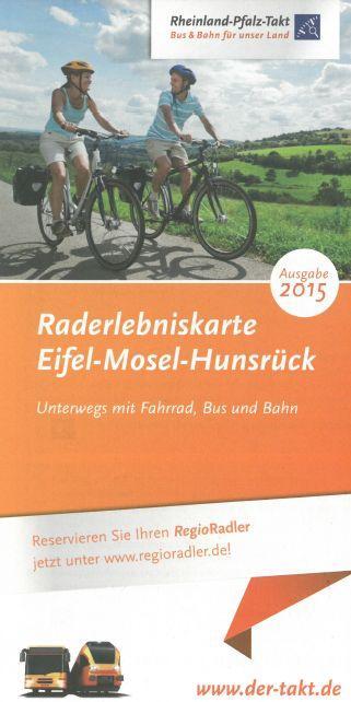 Raderlebniskarte Eifel-Mosel-Hunsrück 2015